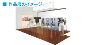 Stajimoルームの利與方法 作品展のイメージ