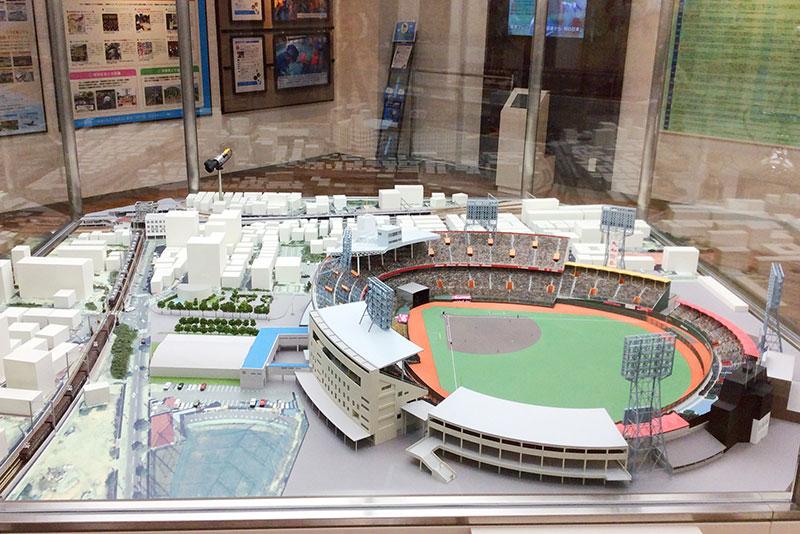 阪急西宮ギャラリー ジオラマ模型